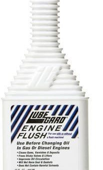 Lubegard Engine Flush Motor Oil Change Cleaner Synthetic Blend Additve 95030 Wow