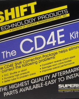 Superior Kcd4e Ford Cd4e Transmission Shift Kit Correction Package ! 94-17 Mazda