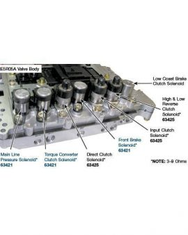 Nissan Frontier Re5r05a Master Solenoid Kit-2002&up-all 7-0em-free Ship-nachi