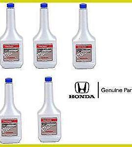 5 X Genuine Honda Power Steering Fluid 12 Ounce Bottles Oem High Quality ! Wow !