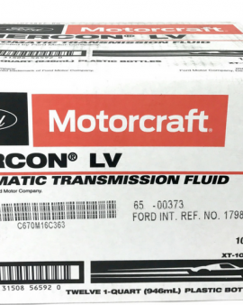 Motorcraft Mercon Lv  Automatic Transmission Fluid Xt-10-qlvc 1-case 12 Quarts