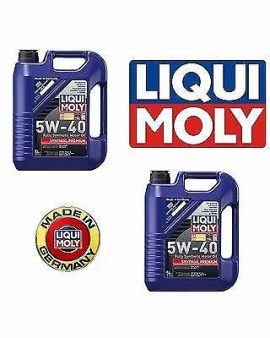 Liqui Moly 10 Liters 5W-40 Premium Synthoil Full Synthetic Motor Oil Germany OEM