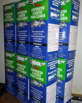 12X Lubegard 96030 Kool-It Evaporator and Heater Foam Cleaner  FRESH CLEAN AIR !
