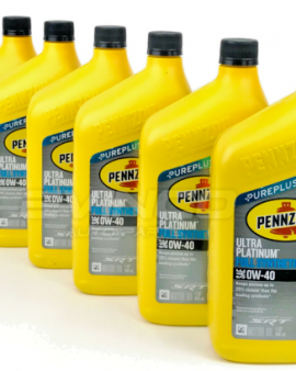 6 X 0W40 Full Synthetic Motor Oil Pennzoil Ultra SRT Engines 68171066PA 1 CASE
