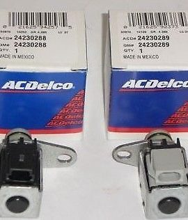 Gmc Chevy 4l60e 4l65e 1-2 3-4 Shift Solenoid A & B Set Of 2 Ac Delco New Quality