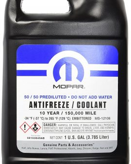 Antifreeze / Coolant Genuine Mopar 10 Year/150,000 Mile Coolant 50/50 Premixed