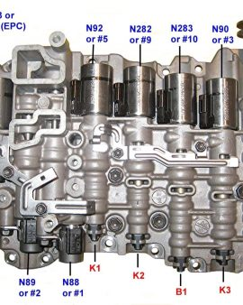09g Ga6f21wa, Tf60sn, 09m, O9m,09k, Valve Body Volkswagon Mini Coop Audi-2005-12