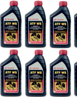 10 X Quarts Genuine Toyota Atf Ws Automatic Transmission Oil Fluid Lexus Scion