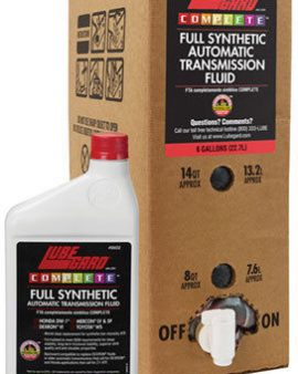 Lubegard Complete Full Synthetic Atf Automatic Transmission Fluid Lxe 6 Gallons