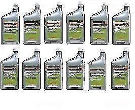 12 X Quarts Manual Transmission Fluid Mtf Acura Honda Genuine Oem # 087989031