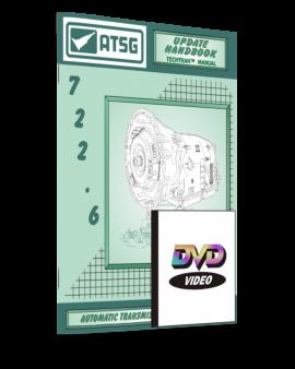 Mercedes Benz 722.6 Atsg Transmission Manual And Dvd -handbook-repair Guide Book