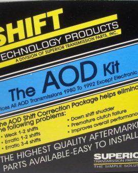 Superior Kaod Aod Transmission Shift Kit Correction Combo Package ! 1980-1993