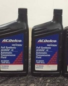 Dextron Acdelco Vi Full Synthetic Automatic Transmission Fluid 6 Quarts 10-9243