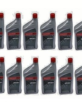 12 X Quarts Genuine Honda Oil Automatic Transmission Fluid Atf Dw1 Acura- Wow !