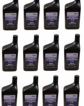 12 X Quarts Genuine Hyundai Atf Sp-iii Automatic Transmission Fluid Oil Oem -wow