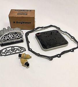 Chrysler A604 41te Transmission Solenoid Block &speed Sensors & Filter Kit Combo