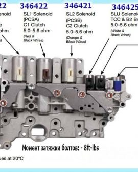 U760e U760 Toyota Highlander Transmission Valve Body – Dyno Tested & Free Ship !