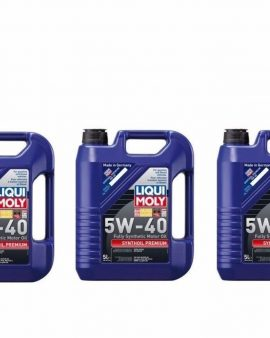 3 X 15 Liters Lubro Moly 5w-40 Synthoil  Full Synthetic Motor Oil Mercedes Benz!