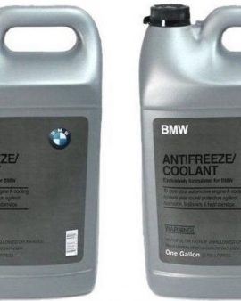 2 Gallon Genuine Bmw Mini Coolant Antifreeze Blue Color 100% Concentrated Style