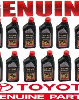 12X Genuine  WS ATF World Standard Automatic Transmission Fluid Oil for Toyota !