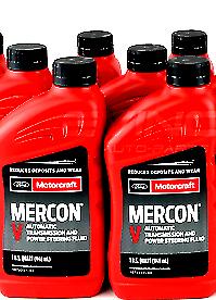 6x Motorcraft Mercon V Transmission Fluid Xt-5-qmc 6 Quarts Ford Lincoln Vehicle