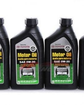 4 X Toyota Lexus Genuine 0w20 Synthetic Motor Oil  00279-0wqte – Oem- On Sale !