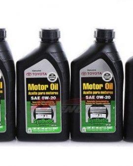 4 X Toyota Lexus Genuine 0w20 Synthetic Motor Oil  00279-0wqte – Oem- On Sale !