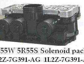 Ford 5r55w / S Solenoid Block-lincoln-tested-lifetime Guarantee-with Screen!wow
