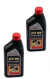 2x Quarts Genuine Toyota Atf Ws Automatic Transmission Oil Fluid Lexus Scion-wow