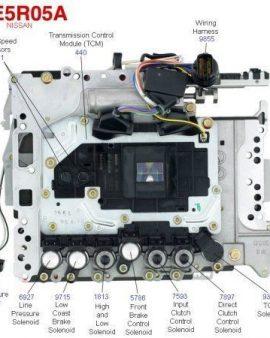 Nissan Re5r05a Transmission Valve Body, 3rd Design Pathfinder 2006-2016-tested