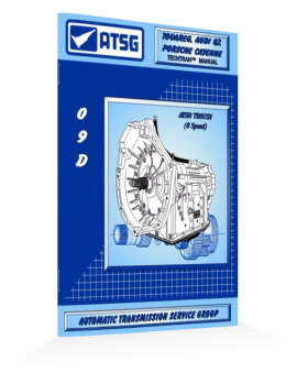 Audi 09d Tr60n Atsg Transmission Manual-handbook-repair Guide Book-save $cash$