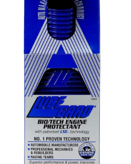 Bio/tech Engine Oil Protectant With Lxe® Technology Lubegard 30901 Biotech Bio Tech Blue Bottle
