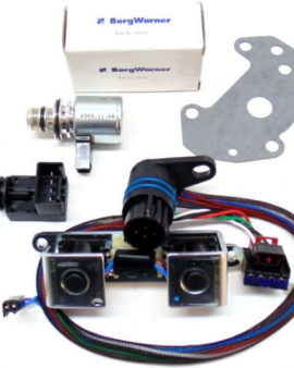 A500 518 44re 46re 47re 48re Dodge Jeep Transmission Solenoid And Tranducer And Tcc Harness Kit With Gasket 2000-up