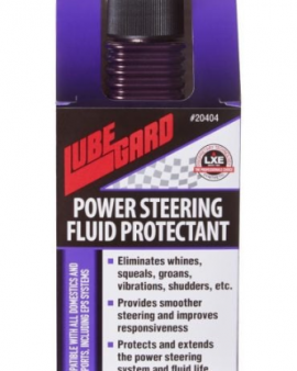 Power Steering Fluid Protectant With Lxe® Technology Lubegard 20404 Universal Power Steering Fluid Protectant 4 Fl. Oz