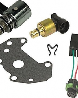 Bd Diesel 1060605 Valve Body Electronics Upgrade Kit Dodge 2000-2007 47re 48re Transmissions Tranducer And Govenor Pressure Solenoid