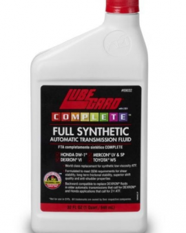 Complete™ Full Synthetic Atf Transmission High Film Strength For The Life Of The Fluid